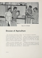 Page 16, 1956 Edition, South Dakota State College - Jack Rabbit Yearbook (Brookings, SD) online yearbook collection
