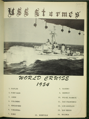 Page 5, 1954 Edition, Stormes (DD 780) - Naval Cruise Book online yearbook collection