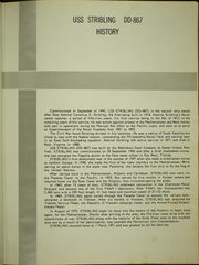 Page 5, 1971 Edition, Stribling (DD 867) - Naval Cruise Book online yearbook collection