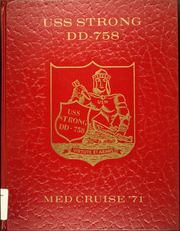 Page 1, 1971 Edition, Strong (DD 758) - Naval Cruise Book online yearbook collection