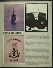 Page 7, 1985 Edition, Stump (DD 978) - Naval Cruise Book online yearbook collection