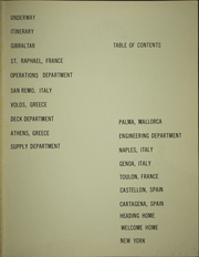 Page 7, 1960 Edition, Suribachi (AE 21) - Naval Cruise Book online yearbook collection