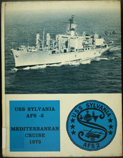 1973 Edition, Sylvania (AFS 2) - Naval Cruise Book
