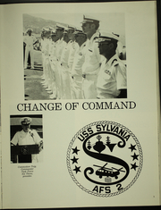 Page 9, 1981 Edition, Sylvania (AFS 2) - Naval Cruise Book online yearbook collection