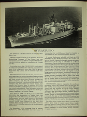 Page 6, 1983 Edition, Sylvania (AFS 2) - Naval Cruise Book online yearbook collection