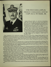 Page 9, 1983 Edition, Sylvania (AFS 2) - Naval Cruise Book online yearbook collection