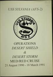 Page 5, 1991 Edition, Sylvania (AFS 2) - Naval Cruise Book online yearbook collection