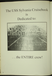 Page 6, 1991 Edition, Sylvania (AFS 2) - Naval Cruise Book online yearbook collection