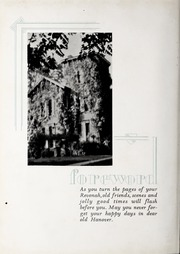 Page 10, 1930 Edition, Hanover College - Revonah Yearbook (Hanover, IN) online yearbook collection