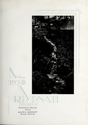Page 9, 1930 Edition, Hanover College - Revonah Yearbook (Hanover, IN) online yearbook collection
