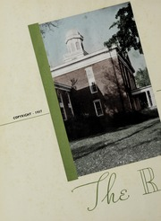 Page 6, 1937 Edition, Hanover College - Revonah Yearbook (Hanover, IN) online yearbook collection