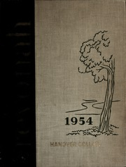 Page 1, 1954 Edition, Hanover College - Revonah Yearbook (Hanover, IN) online yearbook collection