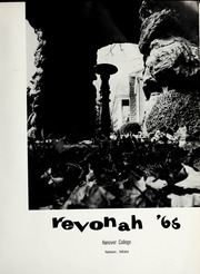 Page 5, 1965 Edition, Hanover College - Revonah Yearbook (Hanover, IN) online yearbook collection