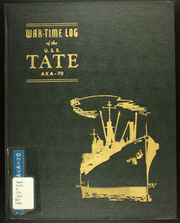 1945 Edition, Tate (AKA 70) - Naval Cruise Book