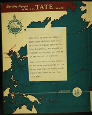 Page 2, 1945 Edition, Tate (AKA 70) - Naval Cruise Book online yearbook collection