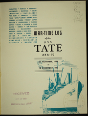 Page 5, 1945 Edition, Tate (AKA 70) - Naval Cruise Book online yearbook collection