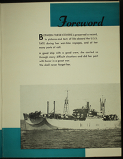 Page 7, 1945 Edition, Tate (AKA 70) - Naval Cruise Book online yearbook collection