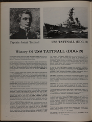 Page 6, 1973 Edition, Tattnall (DDG 19) - Naval Cruise Book online yearbook collection