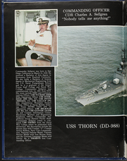 Page 8, 1981 Edition, Thorn (DD 988) - Naval Cruise Book online yearbook collection