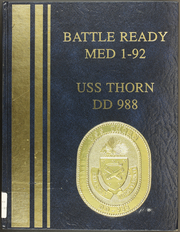 Page 1, 1992 Edition, Thorn (DD 988) - Naval Cruise Book online yearbook collection