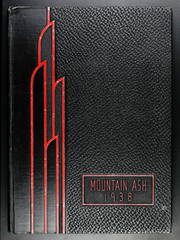 1938 Edition, Walla Walla University - Mountain Ash Yearbook (College Place, WA)