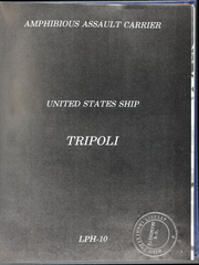 Page 5, 1976 Edition, Tripoli (LPH 10) - Naval Cruise Book online yearbook collection