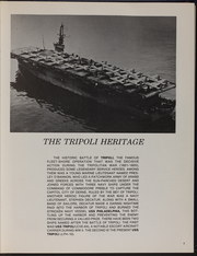 Page 9, 1976 Edition, Tripoli (LPH 10) - Naval Cruise Book online yearbook collection