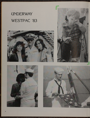 Page 10, 1983 Edition, Tripoli (LPH 10) - Naval Cruise Book online yearbook collection