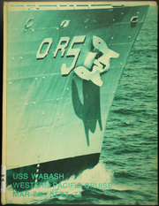 1974 Edition, Wabash (AOR 5) - Naval Cruise Book