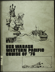1976 Edition, Wabash (AOR 5) - Naval Cruise Book