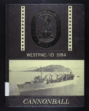 1984 Edition, Wabash (AOR 5) - Naval Cruise Book