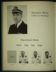 Page 10, 1970 Edition, Waccamaw (AO 109) - Naval Cruise Book online yearbook collection