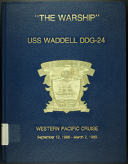 1989 Edition, Waddell (DDG 24) - Naval Cruise Book