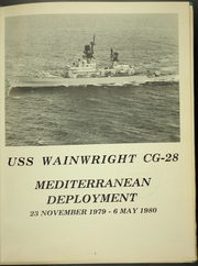 Page 5, 1980 Edition, Wainwright (CG 28) - Naval Cruise Book online yearbook collection