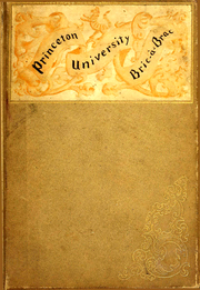 Page 1, 1892 Edition, Princeton University - Bric A Brac Yearbook (Princeton, NJ) online yearbook collection