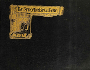 Page 1, 1921 Edition, Princeton University - Bric A Brac Yearbook (Princeton, NJ) online yearbook collection