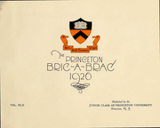 Page 3, 1926 Edition, Princeton University - Bric A Brac Yearbook (Princeton, NJ) online yearbook collection