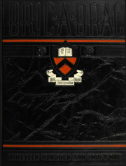 1941 Edition, Princeton University - Bric A Brac Yearbook (Princeton, NJ)
