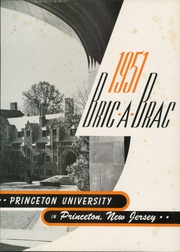Page 7, 1951 Edition, Princeton University - Bric A Brac Yearbook (Princeton, NJ) online yearbook collection
