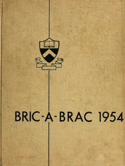 1954 Edition, Princeton University - Bric A Brac Yearbook (Princeton, NJ)