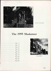 Page 11, 1955 Edition, Xavier University - Musketeer Yearbook (Cincinnati, OH) online yearbook collection