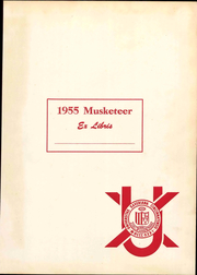 Page 5, 1955 Edition, Xavier University - Musketeer Yearbook (Cincinnati, OH) online yearbook collection