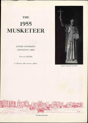 Page 9, 1955 Edition, Xavier University - Musketeer Yearbook (Cincinnati, OH) online yearbook collection