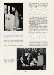 Page 11, 1957 Edition, Xavier University - Musketeer Yearbook (Cincinnati, OH) online yearbook collection