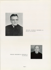 Page 15, 1957 Edition, Xavier University - Musketeer Yearbook (Cincinnati, OH) online yearbook collection