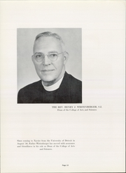 Page 16, 1957 Edition, Xavier University - Musketeer Yearbook (Cincinnati, OH) online yearbook collection