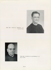 Page 17, 1957 Edition, Xavier University - Musketeer Yearbook (Cincinnati, OH) online yearbook collection