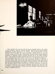Page 9, 1960 Edition, Xavier University - Musketeer Yearbook (Cincinnati, OH) online yearbook collection