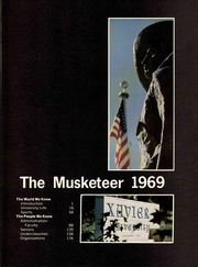 Page 7, 1969 Edition, Xavier University - Musketeer Yearbook (Cincinnati, OH) online yearbook collection