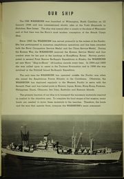 Page 5, 1962 Edition, Washburn (AKA 108) - Naval Cruise Book online yearbook collection